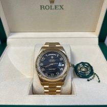 Rolex Day-Date II Oro amarillo 41mm Negro