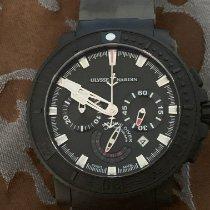 Ulysse Nardin Diver Black Sea Steel 45.8mm Black No numerals United States of America, Maryland, Silver Spring