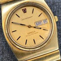 Omega Constellation Quartz Yellow gold 37mm Gold No numerals