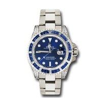 Rolex Submariner Date Steel 40mm Blue No numerals United States of America, California, Los Angeles