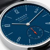 NOMOS Tangente Neomatik Steel 35mm Blue Arabic numerals United States of America, California, San Francisco