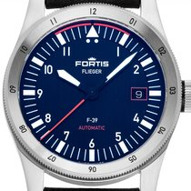 Fortis Steel 39mm Automatic F4220011 new