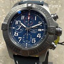 Breitling Super Avenger Titanium 48mm Blue Arabic numerals