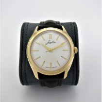 Junghans Meister Hand-winding Rose gold 39mm Silver No numerals