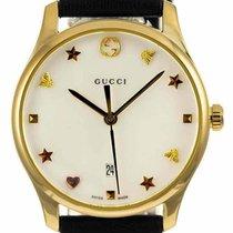 Gucci G-Timeless YA126589 New Yellow gold 36mm Quartz