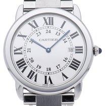 Cartier Ronde Solo de Cartier Steel 36mm White