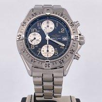 Breitling Colt Chronograph Staal Zwart Arabisch