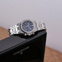 Audemars Piguet Royal Oak Chronograph Acier 39mm Bleu Sans chiffres France, Paris