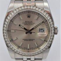 Rolex Datejust Zeljezo 36mm Srebro