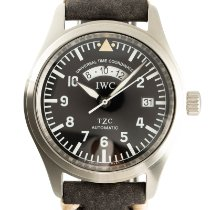 IWC Pilot Spitfire UTC Steel 39mm Black