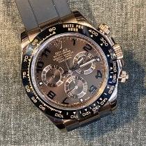 Rolex Daytona Pозовое золото 40mm Коричневый Aрабские