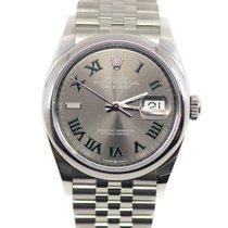 Rolex Datejust Steel 36mm Grey No numerals United States of America, New York, New York