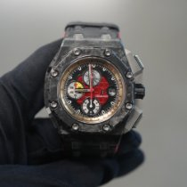 Audemars Piguet Royal Oak Offshore Grand Prix Koolstof 44mm Zwart Geen cijfers