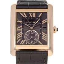 Cartier Tank MC Rose gold 34.3mm Brown Roman numerals United States of America, Maryland, Baltimore, MD