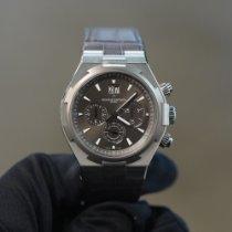 Vacheron Constantin Steel Automatic Grey No numerals 42mm pre-owned Overseas Chronograph