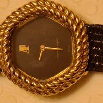 Audemars Piguet Tradition Goud/Staal 23mm Bruin Geen cijfers