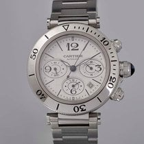 Cartier Pasha Seatimer W31089M7 New Steel 42mm Automatic