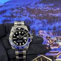 Rolex GMT-Master II Сталь 40mm Черный Без цифр Россия, Москва