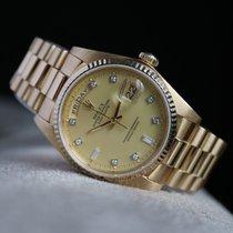 Rolex Day-Date 36 18038 Zeer goed Geelgoud 36mm Automatisch Nederland, Damwald
