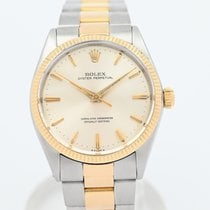 Rolex Oyster Perpetual 34 Yellow gold 34mm Champagne No numerals South Africa, Johannesburg