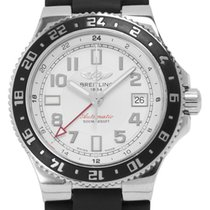 Breitling Superocean GMT Staal 41mm