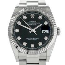 Rolex Datejust Steel 36mm Black United Kingdom, London