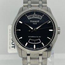 Tissot Couturier Сталь 39mm Черный Без цифр
