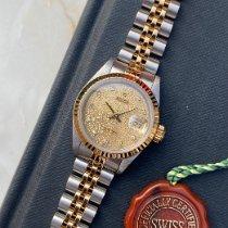 Rolex Lady-Datejust Goud/Staal 26mm Goud Geen cijfers Nederland, Naarden