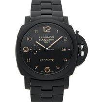 Panerai Luminor 1950 3 Days GMT Automatic neu 2015 Automatik Uhr mit Original-Box und Original-Papieren PAM 00438