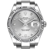 Rolex Oyster Perpetual Date Steel 34mm Silver United States of America, Florida, Miami