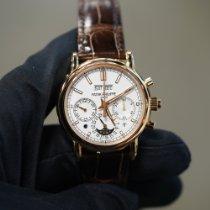 Patek Philippe Perpetual Calendar Chronograph Rose gold 40mm Silver No numerals United States of America, Texas, Laredo