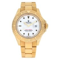 Rolex Automatic White No numerals 40mm pre-owned Yacht-Master 40