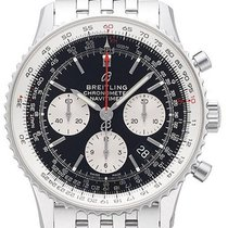 Breitling AB0121211B1A1 Staal 2021 Navitimer 1 B01 Chronograph 43 43mm nieuw