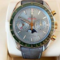 Omega Speedmaster Professional Moonwatch Moonphase Oro/Acciaio 44.2mm Grigio Senza numeri Italia, Rassina