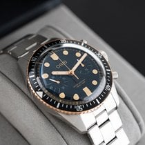 Oris Steel Automatic Black 43mm pre-owned Divers Sixty Five