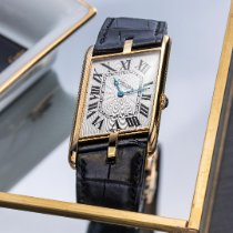 Cartier Tank (submodel) Yellow gold White