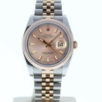 Rolex Silver Automatic White 36mm pre-owned Datejust