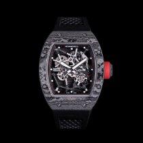 Richard Mille RM 035 Carbon 48mm Transparent Keine Ziffern