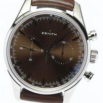 Zenith El Primero Original 1969 Steel 38mm Brown