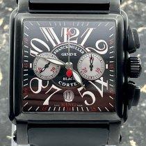 Franck Muller Conquistador Cortez Acero 45mm Negro