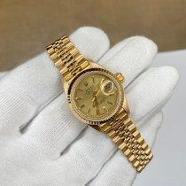 Rolex Lady-Datejust Or jaune 26mm Or Sans chiffres Belgique, Antwerp