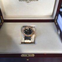Ulysse Nardin Maxi Marine Diver Pозовое золото 42.7mm Черный Без цифр