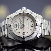 Breitling Colt Oceane Staal 33mm Wit