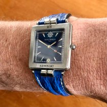 Michel Herbelin pre-owned Quartz 30mm Blue Sapphire crystal 5 ATM