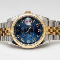 Rolex Datejust Oysterquartz Gold/Steel 36mm Blue No numerals United States of America, Utah, Salt Lake City