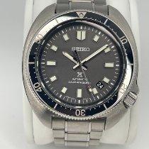 Seiko Prospex Steel 44mm Black No numerals
