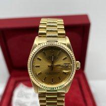 Rolex Datejust 31 68278 Zeer goed Geelgoud 31mm Automatisch