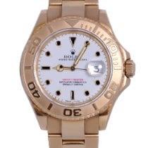 Rolex 16628B Geelgoud 1998 Yacht-Master 40 40mm tweedehands