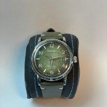 Seiko Presage Steel 38.5mm Green Arabic numerals