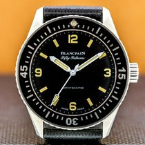 Blancpain Fifty Fathoms Bathyscaphe new Automatic Watch with original box and original papers 5100-1110